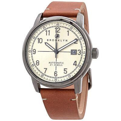 Brooklyn Watch Co. Gowanus Automatic Men's Watch 8600A7