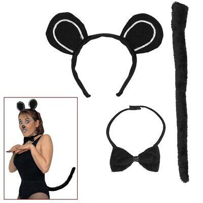 DRESS-UP MAUSKOSTÜM # Karneval Maus Kostüm Ohren Fliege - Maus Kostüm Schwanz