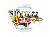 BAR & RESTAURANT TEAM MEMBERS - Mr Thomas' Chop House