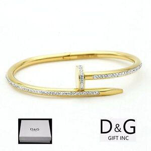 New Dg Gift Women S Stainless Steel Gold 6 5