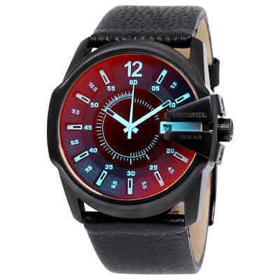 Diesel Leather Watch (Diesel Timeframe Iridescent Dial Leather Men's Watch)