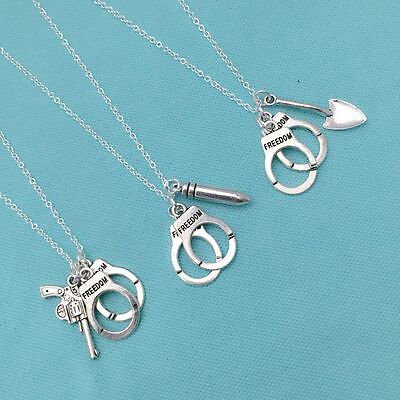 3 Partners In Crimes Necklaces  Sisters  Bff Or Friendship Necklaces