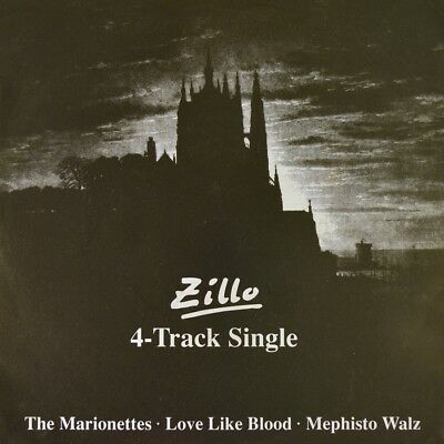 """7"""" THE MARIONETTES / LOVE LIKE BLOOD / MEPHISTO WALZ Gothic ZILLO 1992 like NEW!"""