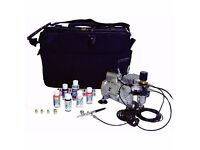Airbrush Kit, SP35 - Compressor & Airbrush