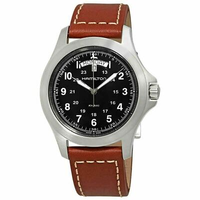 Hamilton H64451533 Khaki Field King Men's 40mm Case Quartz Day/Date Watch