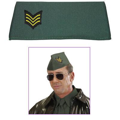 MILITÄR SCHIFFCHEN KÄPPI Karneval Soldat Kostüm Hut Kappe Mütze Armee # 04111 ()