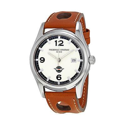 Frederique Constant Automatic White Dial Mens Watch FC-303HSG6B6