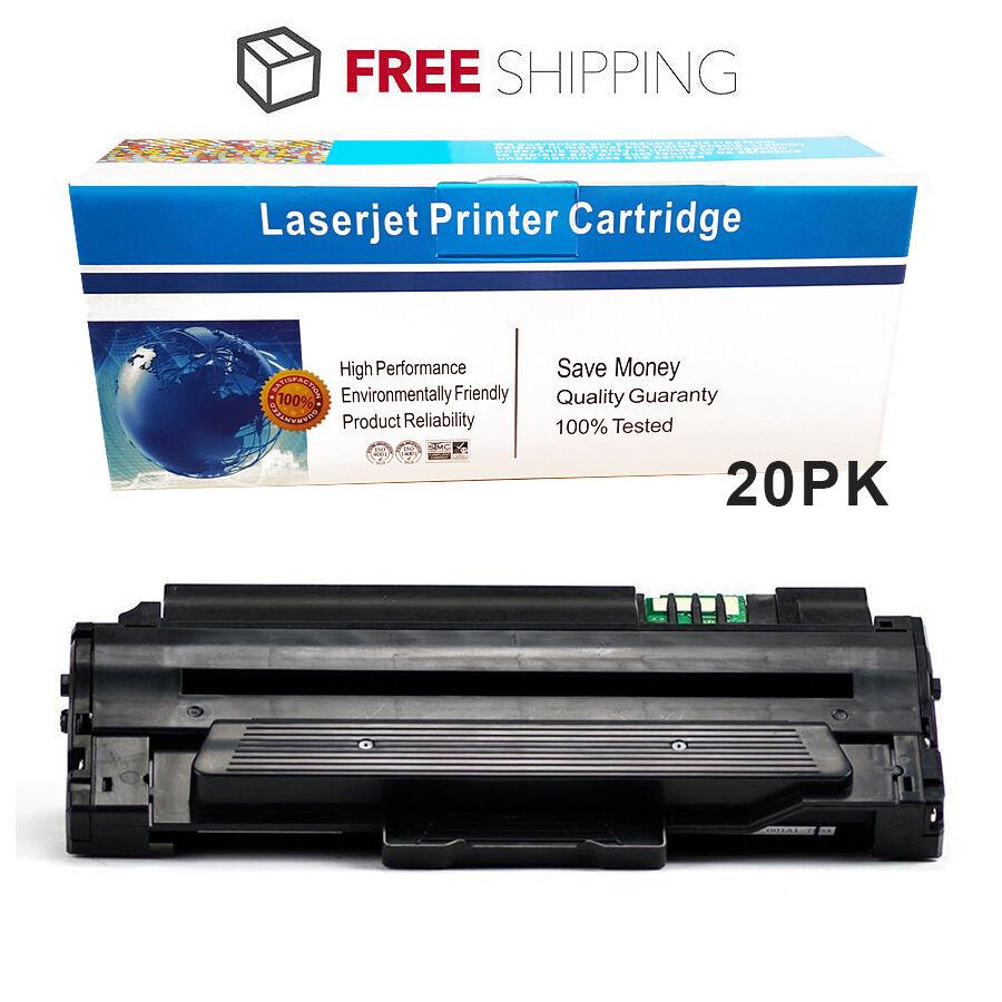 20pk Mlt-d105l Toner Cartridge For Samsung Ml-2525 Ml-252...