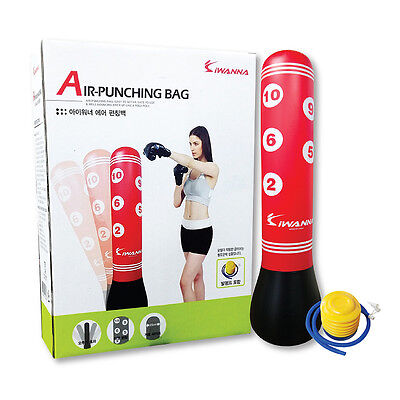 New Air Punching Target Bag 5FT Inflatable Kids Children Sports Bop Kick Boxing