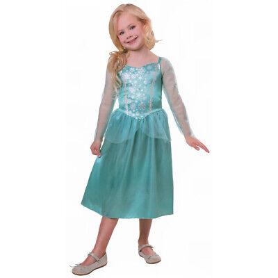 KINDER PRINZESSIN KOSTÜM # Karneval Fasching Mädchen Eisprinzessin Kleid # 2869 ()