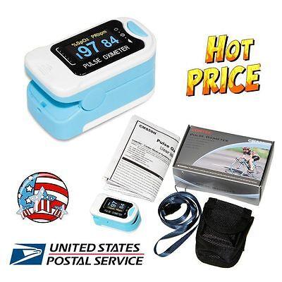 Oled Fingertip Finger Pulse Oximeter Spo2 Heart Rate Oximetro Blood Oxygen Pr