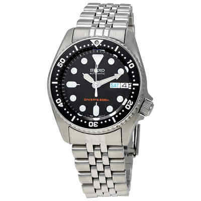 Seiko Black Automatic Diver Men's Watch SKX013K2