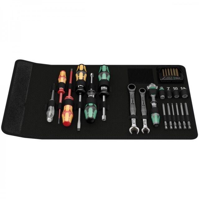 Wera 135927 Kraftform Kompakt 20 Piece SH1 Plumbers Tool Kit Screwdrivers, Joker