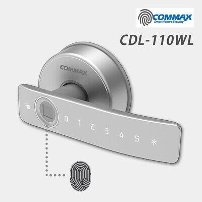 Fingerprint Digital Door Knob Lever Privacy Entry COMMAX CDL-110WL Keyless Lock
