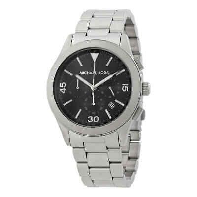 Michael Kors Gareth Chronograph Black Dial Men's Watch MK8469