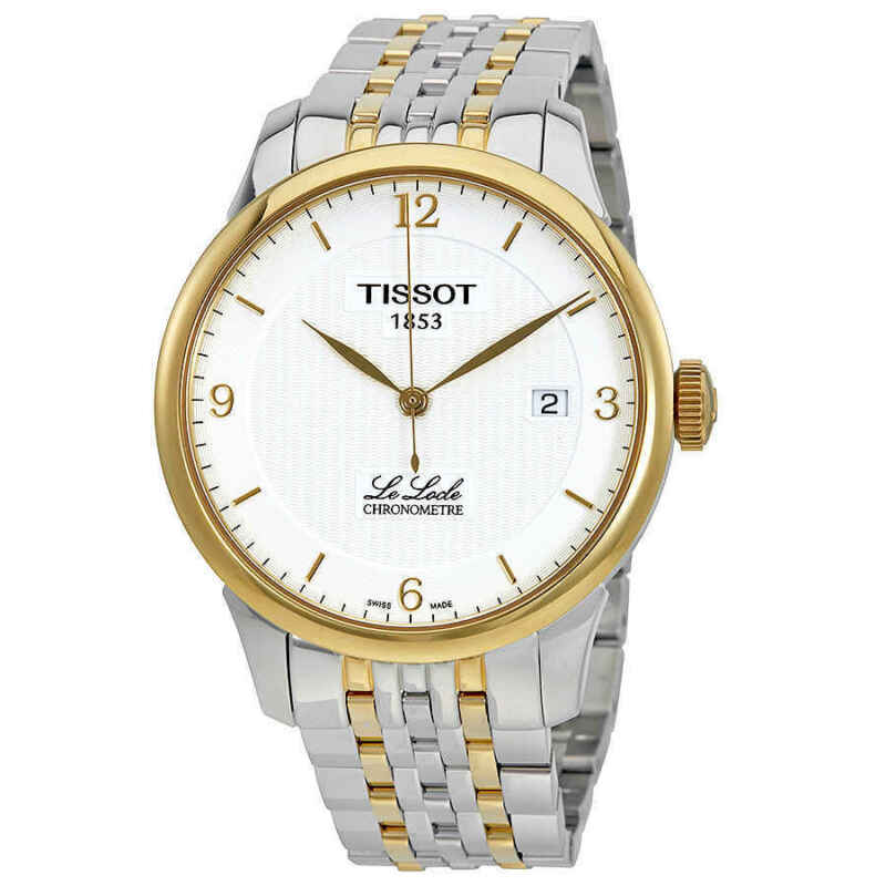 Tissot Le Locle Automatic Silver Dial Men Watch T006.408.22.037.00
