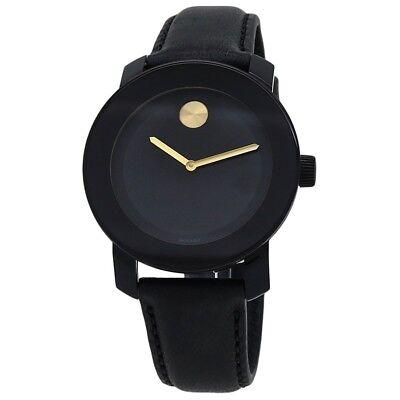 Movado Bold Black Dial Women's Watch 3600527