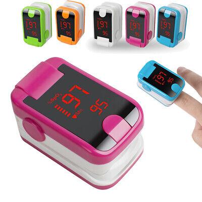 Portable Led Finger Tip Pulse Oximeter Blood Oxygen Spo2 Pr Monitor Sensor Tool