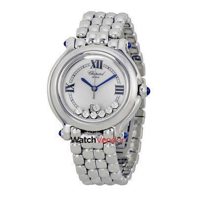 Chopard Happy Sport Diamond Steel Ladies Watch 278236-3005