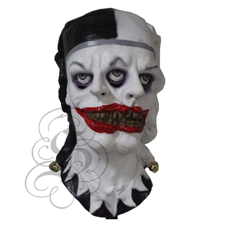 Halloween Demon Scary Psycho Two Face Evil Clown Horror