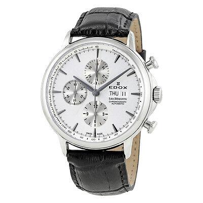 Edox Les Bemonts Chronograph Automatic Mens Watch 01120-3-AIN