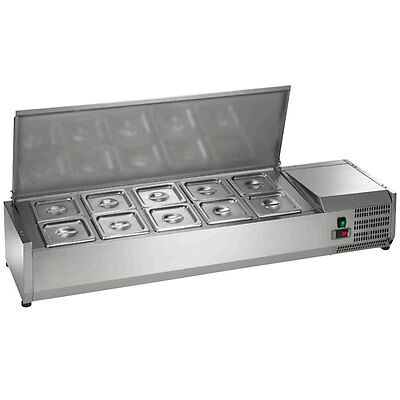 New Arctic Air 55in Refrigerated Counter-top Prep Unit - Acp55 Sandwich Prep