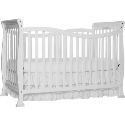 7-in-1 Convertible Full Size Crib Baby Nursery Bedroom Furni