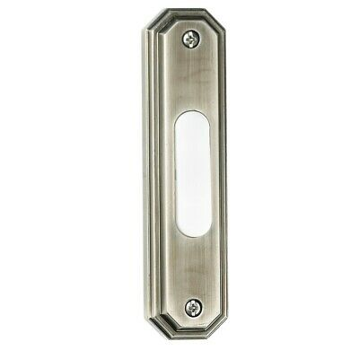 - Craftmade Designer Surface Mount Octagon Doorbell - Antique Pewter - BSOCT-AP