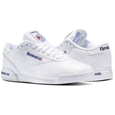 Reebok Classic Exofit Lo Clean Logo Shoes Sneakers Black AR3169 SIZE 11