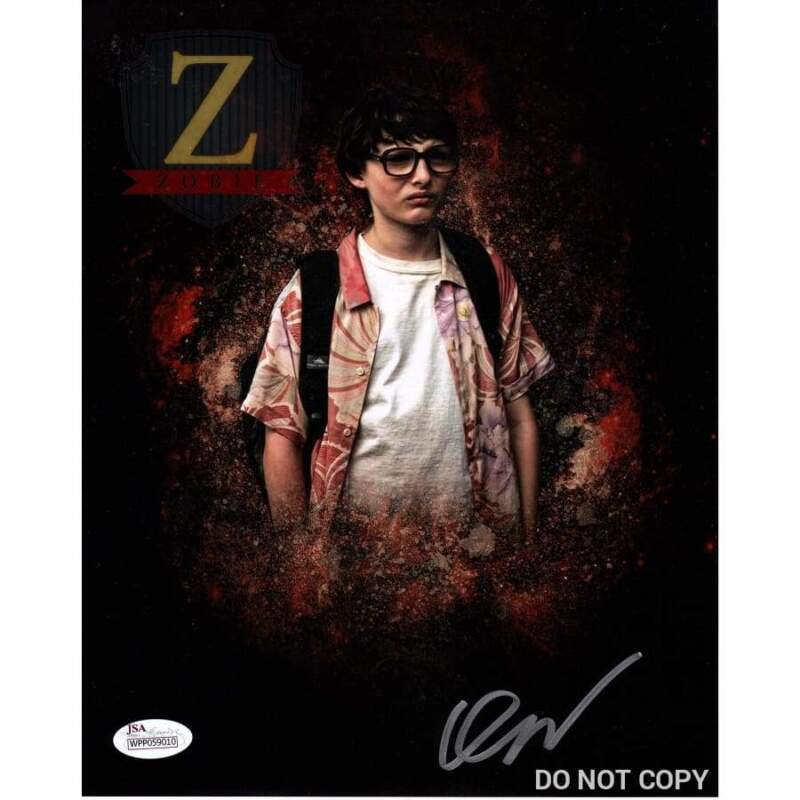 Finn Wolfhard Signed 8x10 Photo Stranger Things IT Autograph JSA COA Z2