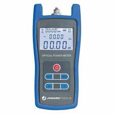 Jonard Tools Fpm-50 Fiber Optic Power Meterlcd Display
