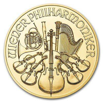 2018 Austria 1 oz Gold Philharmonic BU - SKU #159270