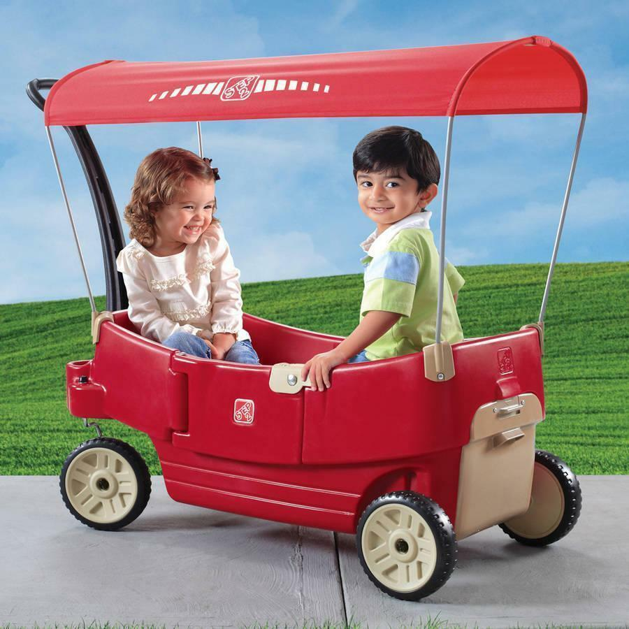 Step2 All Around Canopy Wagon, Red - Brand New In Box