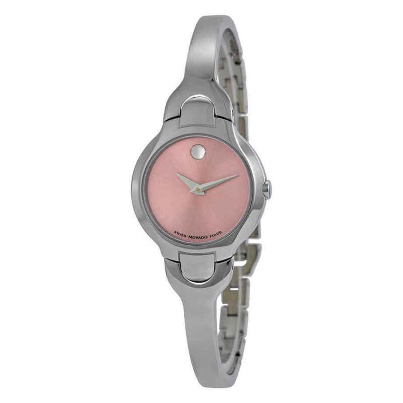 Movado Kara Pink Dial Ladies Watch 0605284