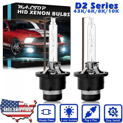 Upgrade 35W D2R D2S HID Xenon Headlight Bulb High Low Beam 4000LM 43K 6K 8K