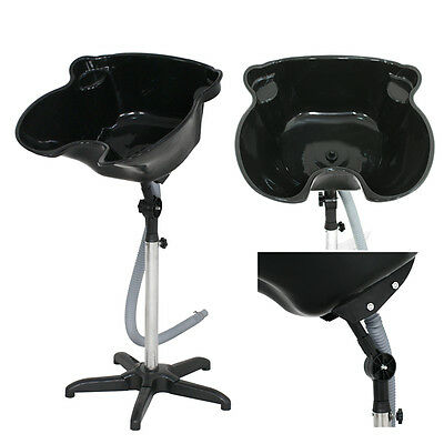 Portable Height Adjustable Shampoo Bowl Basin Sink Hair Salon Treatment Tool New