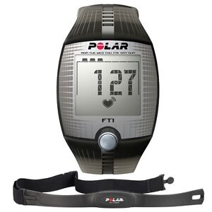 Polar FT1 Fitness Training Black Heart Rate Monitor 90037558 - Size Medium