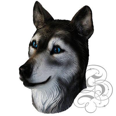 Latex Ganzer Kopf Tier Berühmt Cosplay Wolf Kostüm Karneval Masken (Berühmte Cosplay Kostüme)