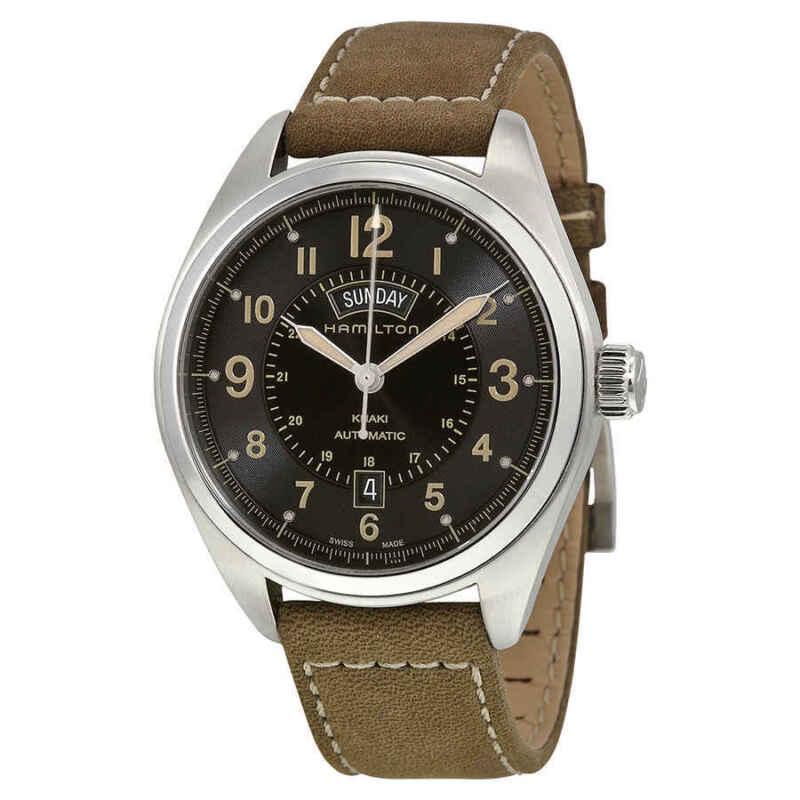 Hamilton-Khaki-Field-Automatic-Black-Dial-Men-Watch-H70505833