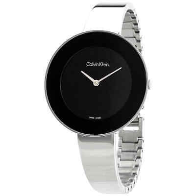 Calvin Klein Chic Quartz Black Dial Ladies Watch K7N23C41