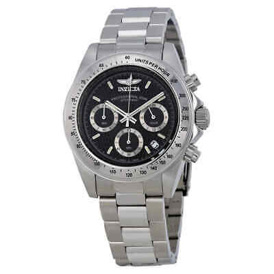 Invicta Speedway Chronograph Black Dial Men's Watch 9223