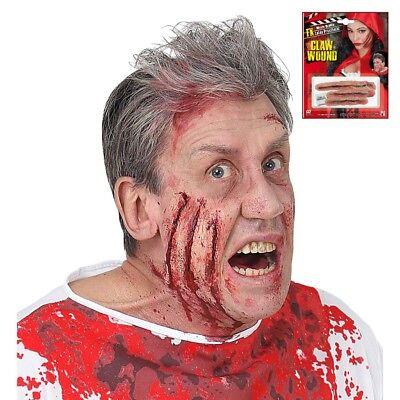FX MAKE UP EFFEKTE Halloween Kratzwunden Narben Latex Horror Party Kostüm 09710 (Prothesen Make Up)
