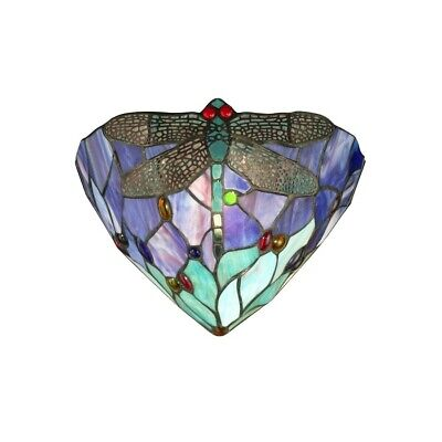 - Dale Tiffany Dragonfly Jewel Wall Sconce - TW12062