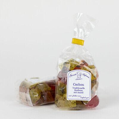 Lebensmittel Anis Öl ((1,85 EUR / 100 Gramm) Cachou, traditionelle Bonbons mit Anisöl, Anisbonbon)