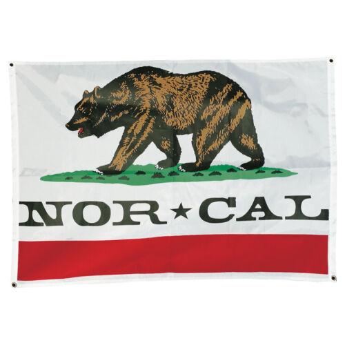 NOR CAL REPUBLIC FLAG Skateboard NORCAL 46in x 32in