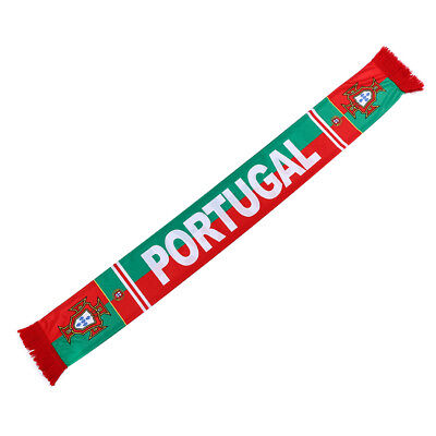 Portugal PT World Cup Country Flag Football Soccer Neck Scarf Souvenir cachecol