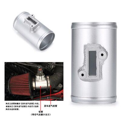 "3"" Air Intake Flow Sensor Connector Adapter For Nissan Honda Civic FORD MAF"