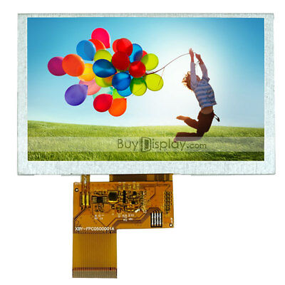5 5 Inch Wvga 800x480 Tft Lcd Display Woptional Touch Panel Or Mp4gpscar