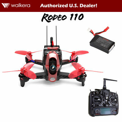 Walkera Rodeo 110 RTF Mini Quadcopter Racing Drone w/ Camera, DEVO 7, GPD, OSD