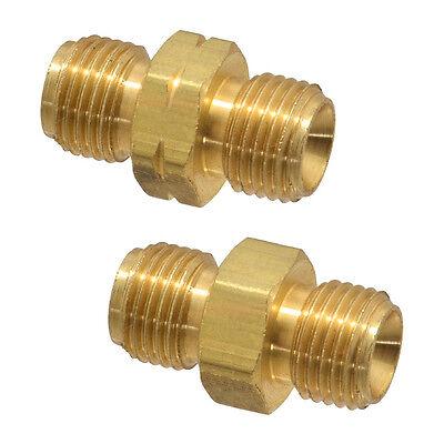 Twin Torch Welding Hose B Size Coupler Set Oxygen Acetylenepropane Couplings